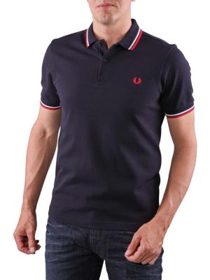 Fred Perry Polo Piqué navy/white/red