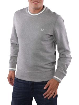 Fred Perry Bold Crew Neck Sweat steel marl
