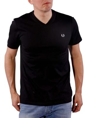 Fred Perry V-Neck T-Shirt black