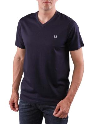 Fred Perry V-Neck T-Shirt navy