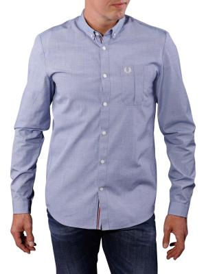 Fred Perry End on End Shirt royal blue