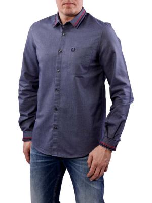 Fred Perry Oxford Shirt dark carbon