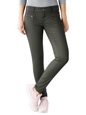 Freeman T Porter Camila Jeans Super Slim Myskin deep green