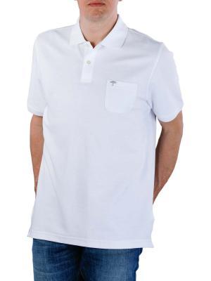 Fynch-Hatton Polo Shirt Basic white