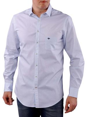 Fynch-Hatton Tailored Prints and Minimals Shirt white/blue