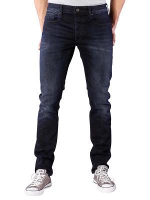 G-Star 3301 Slim Jeans Siro black stretch denim