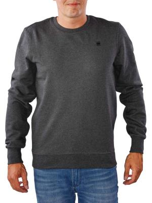 G-Star Core Knit black heather