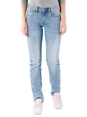 G-Star 3301 Jeans Mid Straight light indigo aged