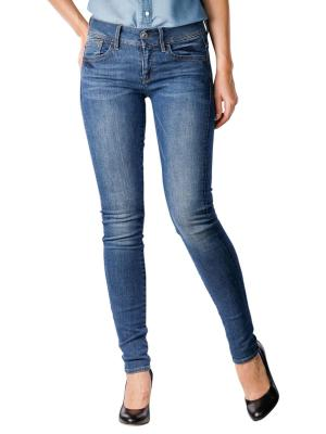 G-Star Lynn Mid Skinny Neutro Stretch faded blue