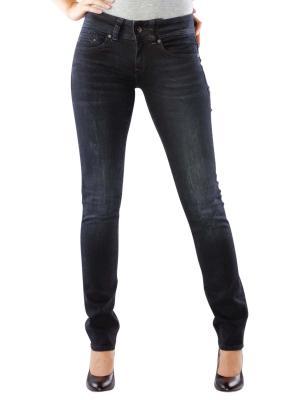 G-Star Midge Saddle Mid Straight Jeans dark aged