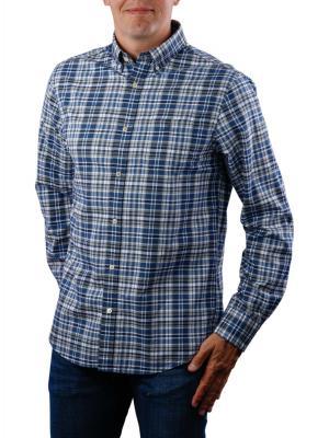 Gant D1 Winter Twill Heather Reg BD Shirt vintage blue