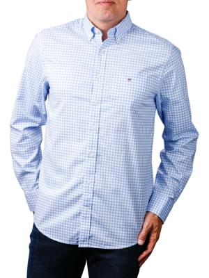 Gant The Broadcloth Gingham Reg BD capri blue