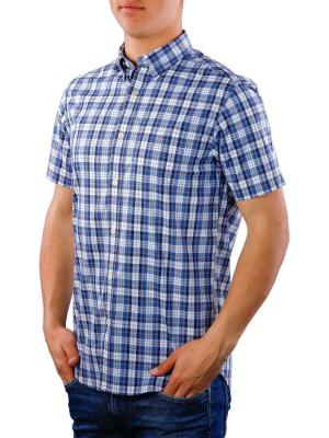 Gant TP Broadcloth Check Reg HBD SS poseidon blue