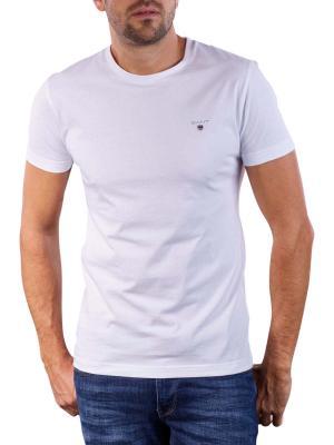 Gant The Original Slim T-Shirt white