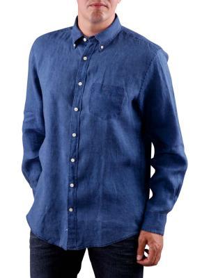 Gant The Indigo Linen Shirt indigo