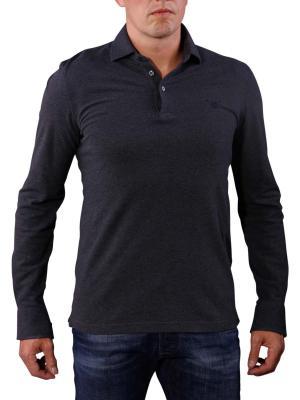 Gant Oxford Pique Shirt dark grey melange