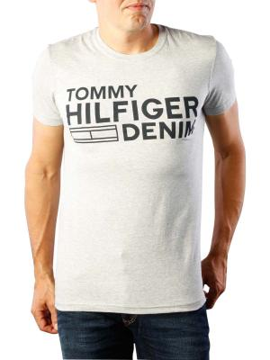Tommy Jeans Basic Crew Neck T-Shirt light grey heather