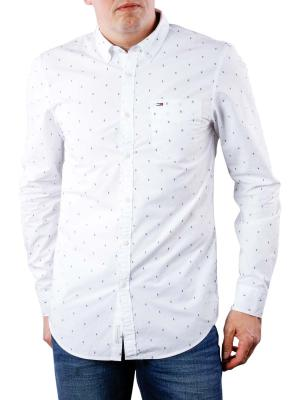Tommy Jeans Basic SLN Dobby Shirt classic white
