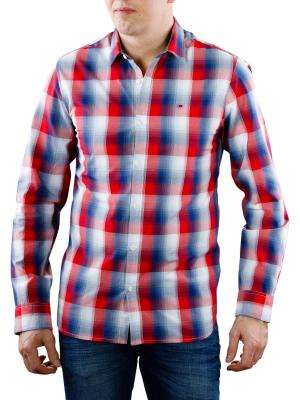 Tommy Jeans Basic SLN Check Shirt classic white