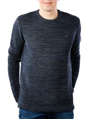 Tommy Jeans Tonal Crewneck Sweater black iris