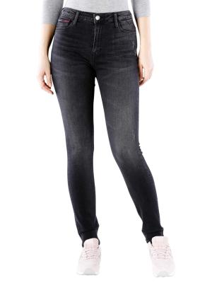 Tommy Jeans Santana Skinny salem black destructed