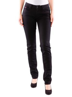 Tommy Jeans Sandy Straight Fit dana black stretch