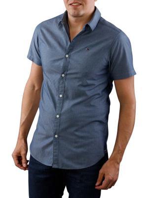 Tommy Jeans Dobby Shirt navy blazer