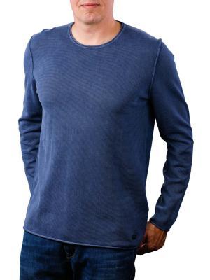 Joop Hogan Sweater Crew Neck mid blue