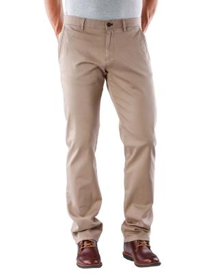 Joop Pant Matthew Straight Fit dark beige