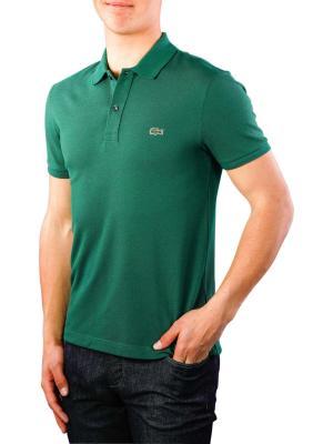 Lacoste Polo Shirt Slim Short Sleeves vert