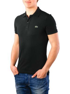 Lacoste Polo Shirt Slim Short Sleeves noir