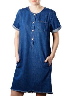 Lee Seasonal dress idaho blue
