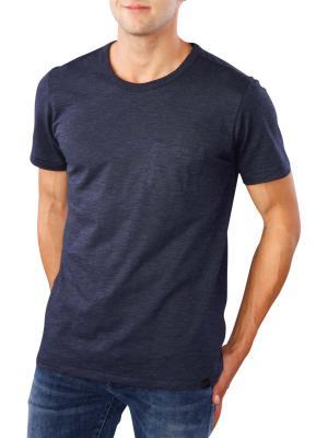Lee Pocket T-Shirt medieval blue