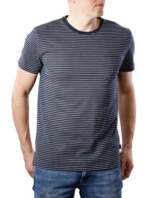 Lee Core Stripe T-Shirt navy drop
