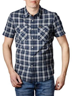 Lee Western Shirt SS navy drop