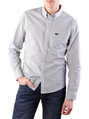 Lee Button Down V Shirt black