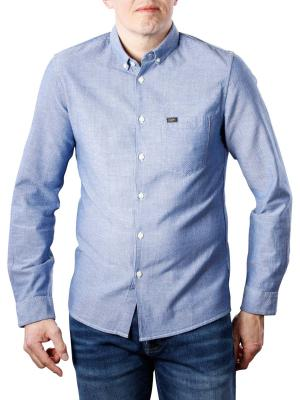 Lee Slim Button Down Shirt night sky
