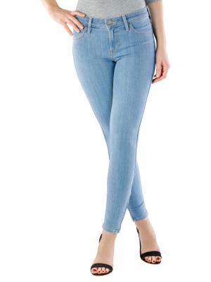 Lee Scarlett Cropped Stretch Jeans fresh neo