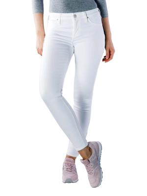 Lee Scarlett Cropped Jeans off white