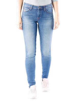 Lee Scarlett Stretch Jeans blue drop