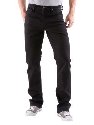 Lee Brooklyn Straight Jeans clean black