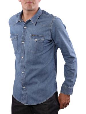 Lee Slim Western Shirt light stone