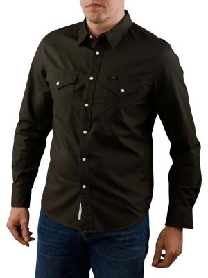 Lee Western Shirt dark army green