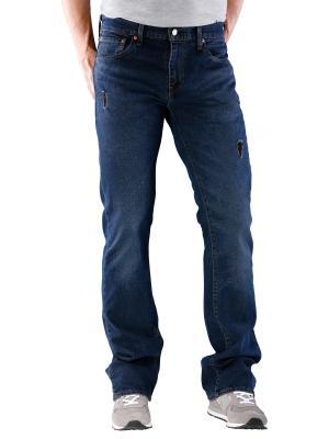 Levi's 527 Jeans Bootcut blue black 6