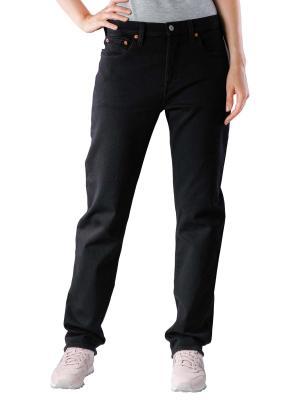 Levi's 501 Jeans crop black heat
