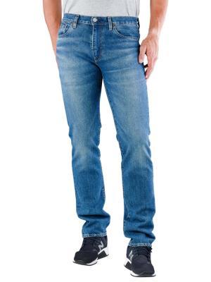 Levi's 511 Jeans Slim Fit orange overt adapt 50