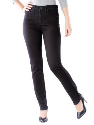 Levi's 724 Jeans High Straight black sheep