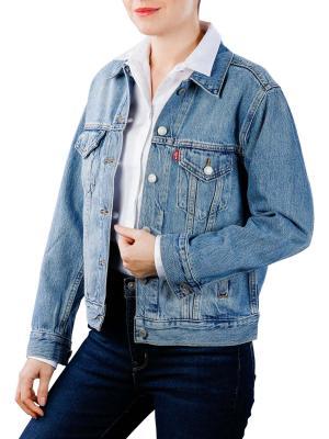 Levi's Ex-Boyfriend Trucker Jacket soft as butter