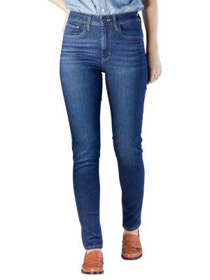 Levi's 721 High Rise Skinny Jeans out on a limb