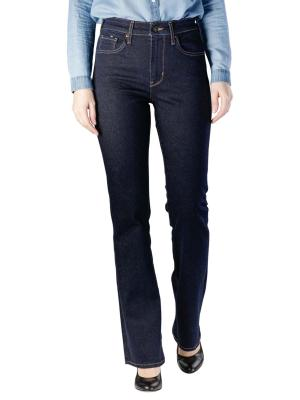Levi's 725 High Rise Bootcut Jeans to the nine